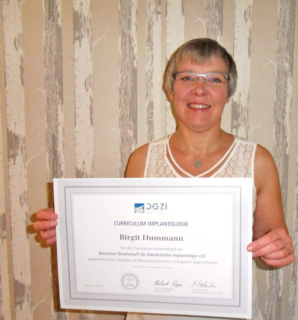 Zahnärztin Birgit Dummann